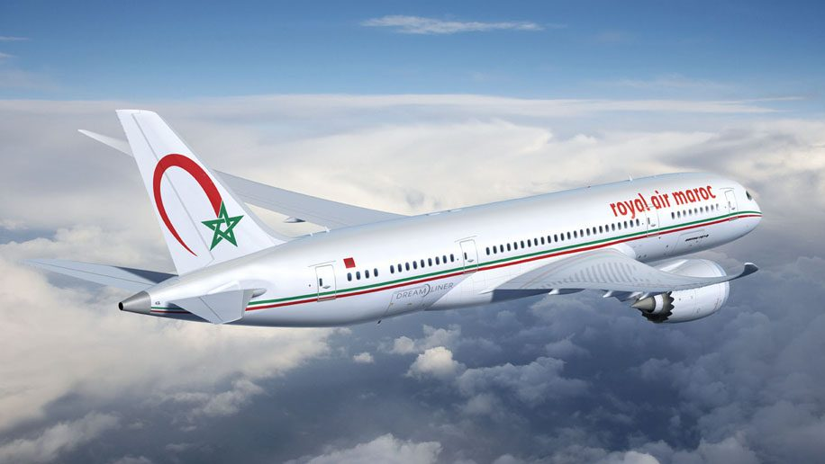 Un avion de Royal Air Maroc